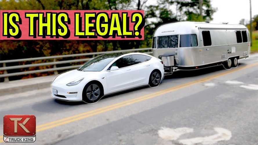 Top Five Tesla Model 3 Towing Questions Answered: Range, Tires, More