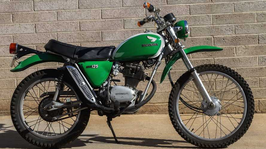 This 1972 Honda SL125 Makes It Look Easy To Be Green