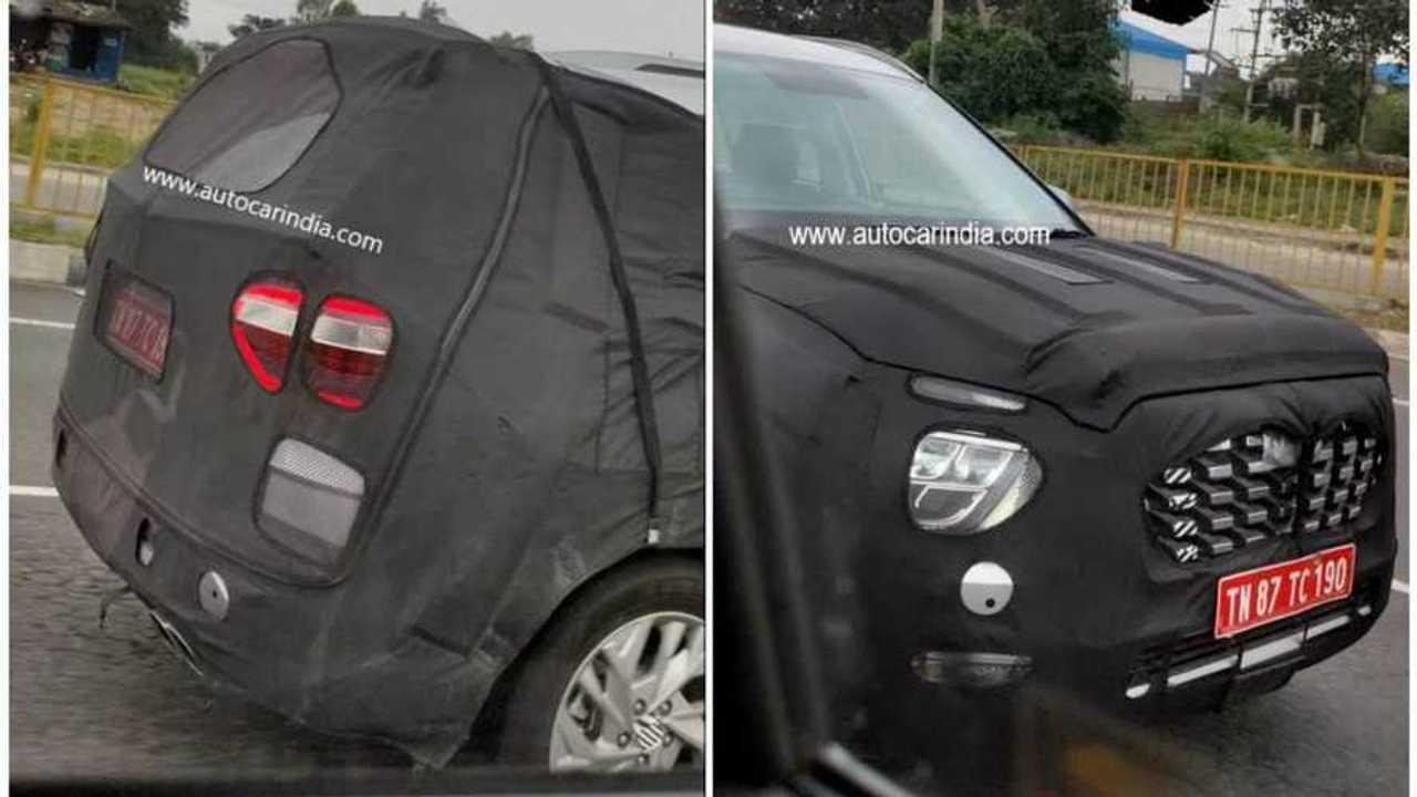 Novo Hyundai Creta 7 lugares - Flagra