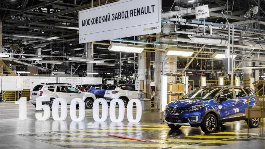 Московский завод Renault выпустил 1,5 миллиона автомобилей