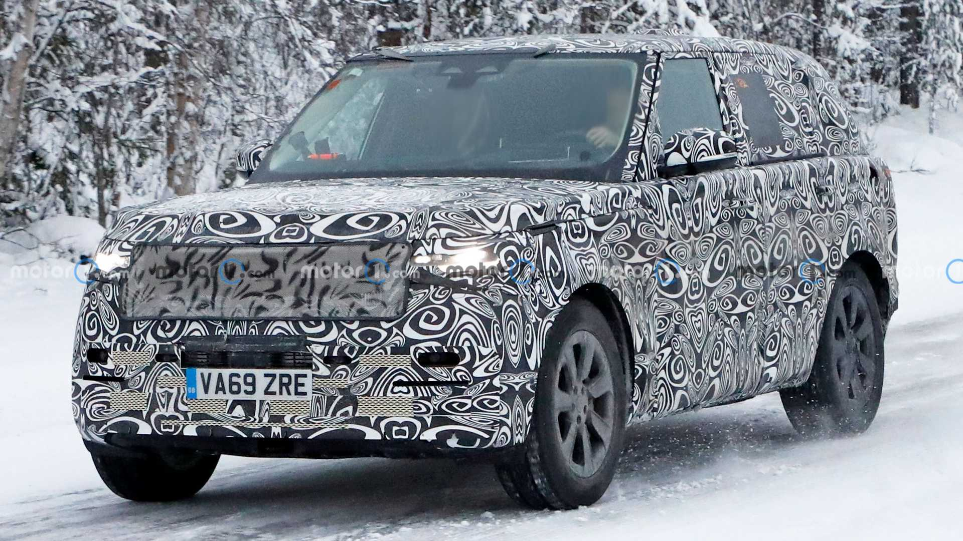 2022 Range Rover Spied Testing In Sweden's Winter Wonderland