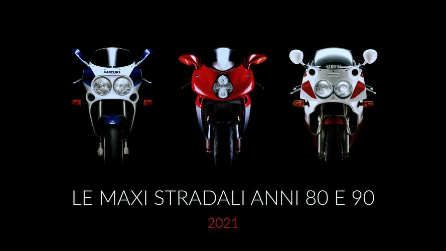Le Maxi Stradali Anni 80 e 90: bellezze da calendario