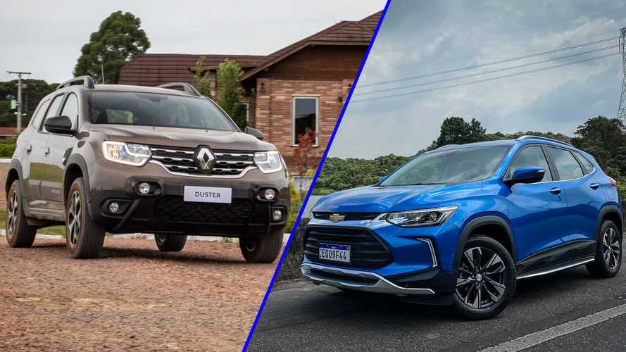 Tracker lidera e Duster supera T-Cross entre os SUVs compactos; veja ranking