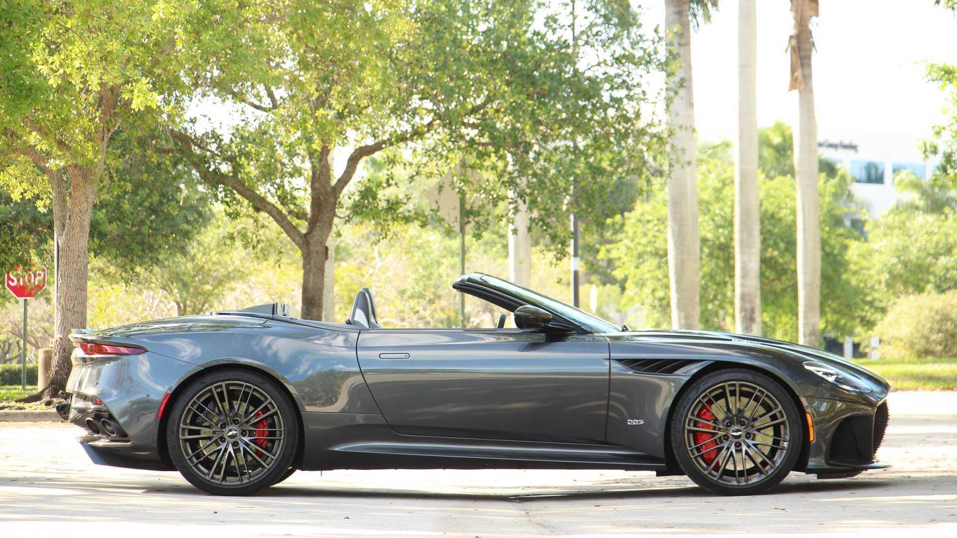 2020 Aston Martin Dbs Superleggera Volante Review Superlative