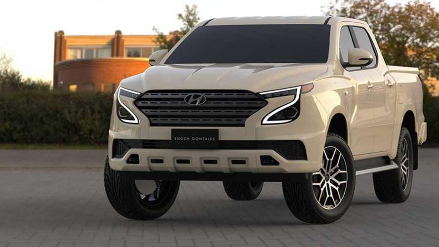 Hyundai Tarlac: picape rival de Hilux e Ranger é adiantada em projeção