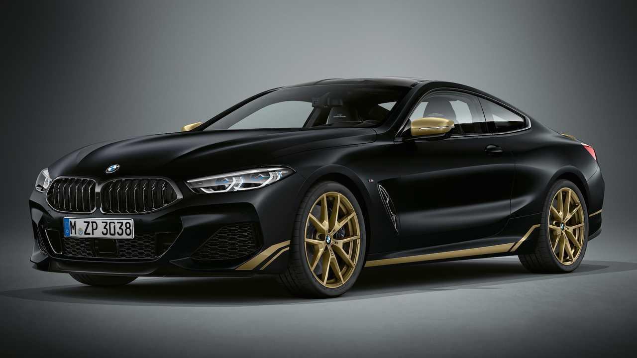 BMW Serie 8 Coupé Golden Thunder