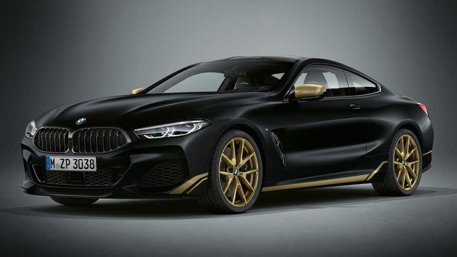 BMW 8 Series Gets More Bling With Special Golden Thunder Edition