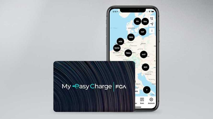 """FCA lancia il servizio """"My Easy Charge"""" per auto elettriche e plug-in"""