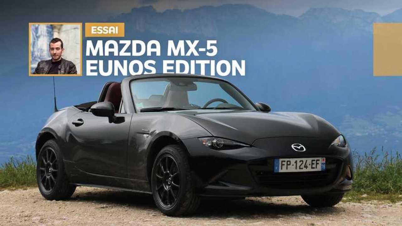 Essai Mazda MX-5 Eunos Edition