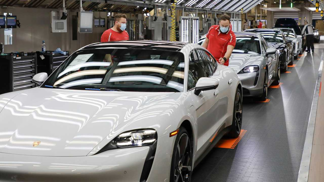 Usine Porsche post-coronavirus