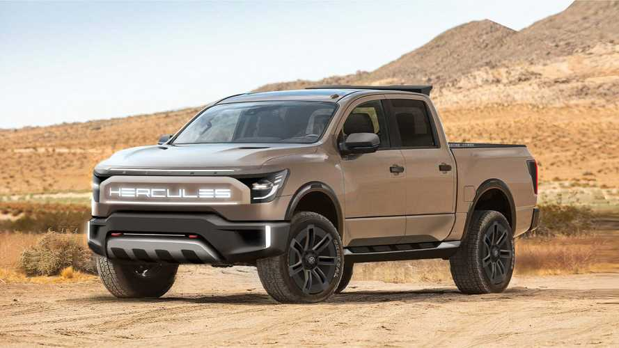 Hercules Alpha: A New Wannabe All-Electric Pickup Truck?