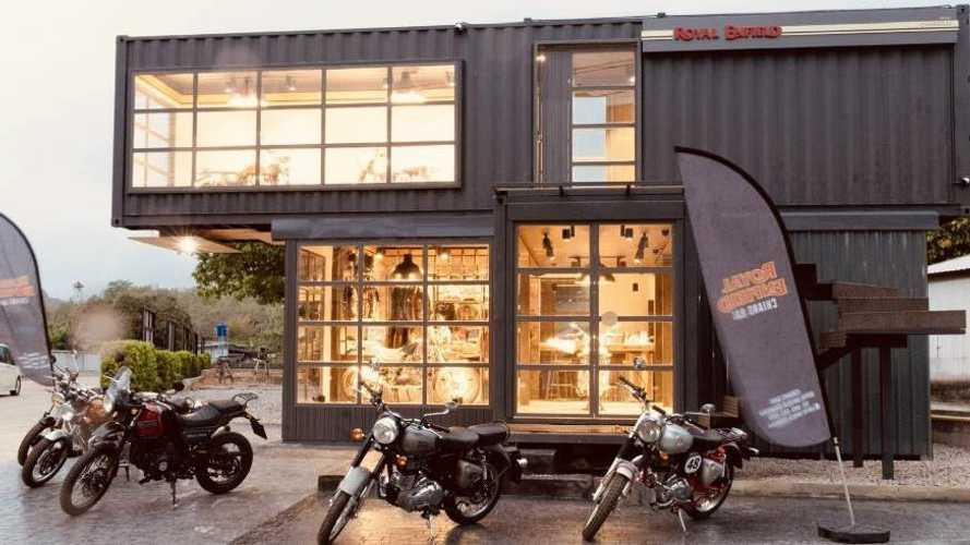Royal Enfield's Mobile Showroom Is Truly An Innovative Concept