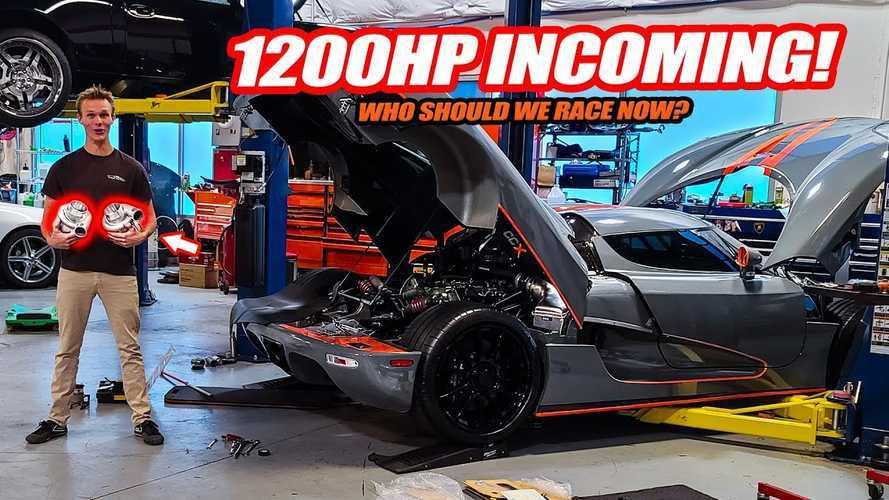 Így akarják 1200 lóerőre tolni ezt a Koenigsegg CCX-et (videó)