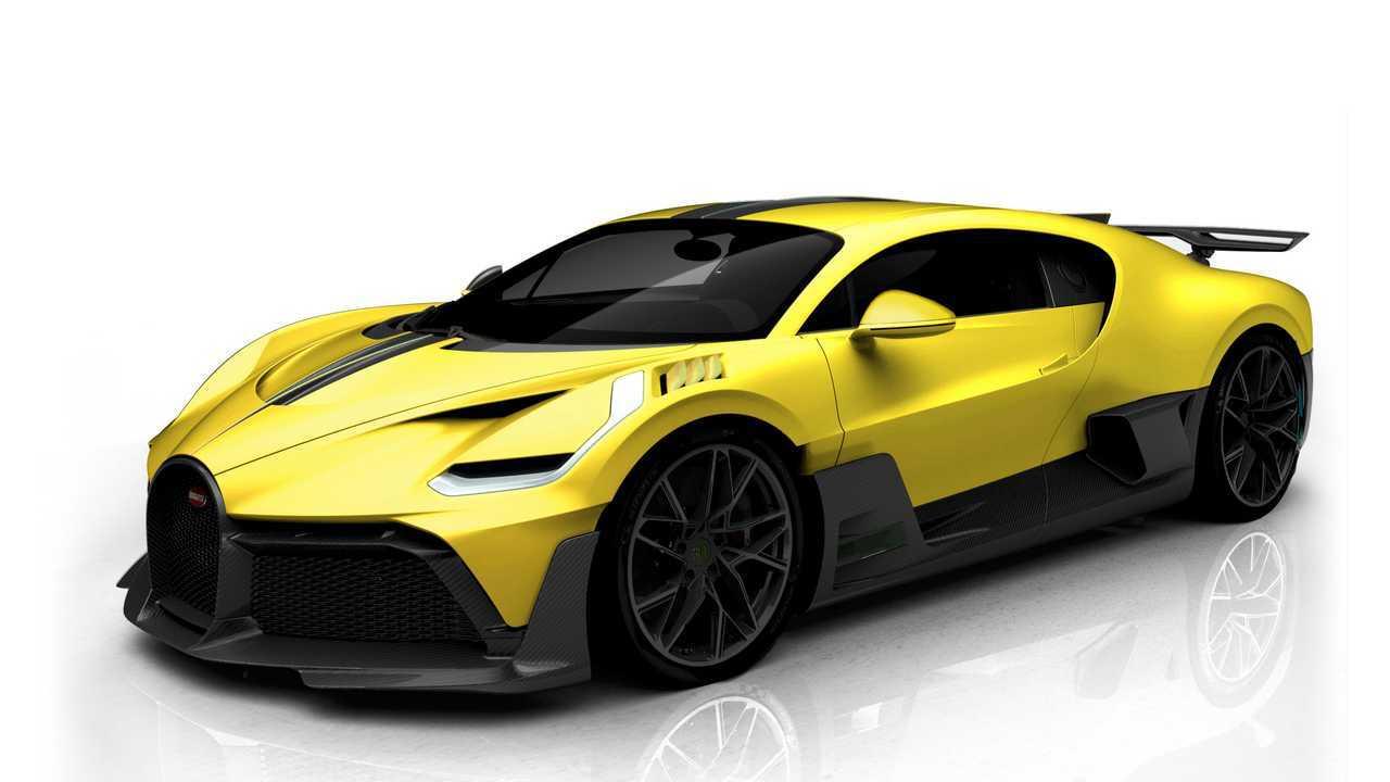 Bugatti Divo Color Combination