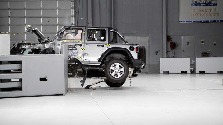 Jeep Considering Changes After Wrangler Flips In IIHS Crash Test?