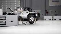 Jeep Wrangler, il crash test dell'IIHS