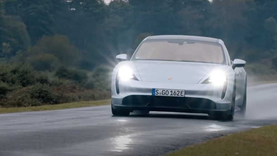 Top-Line Electric Porsche Taycan Gets Odd Taycan Turbo Name