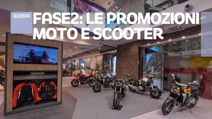 Fase 2: tutte le promozioni per acquistare moto e scooter
