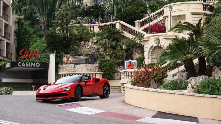 Ferrari y Leclerc ya han grabado en Mónaco 'Le Grand Rendez-vous'