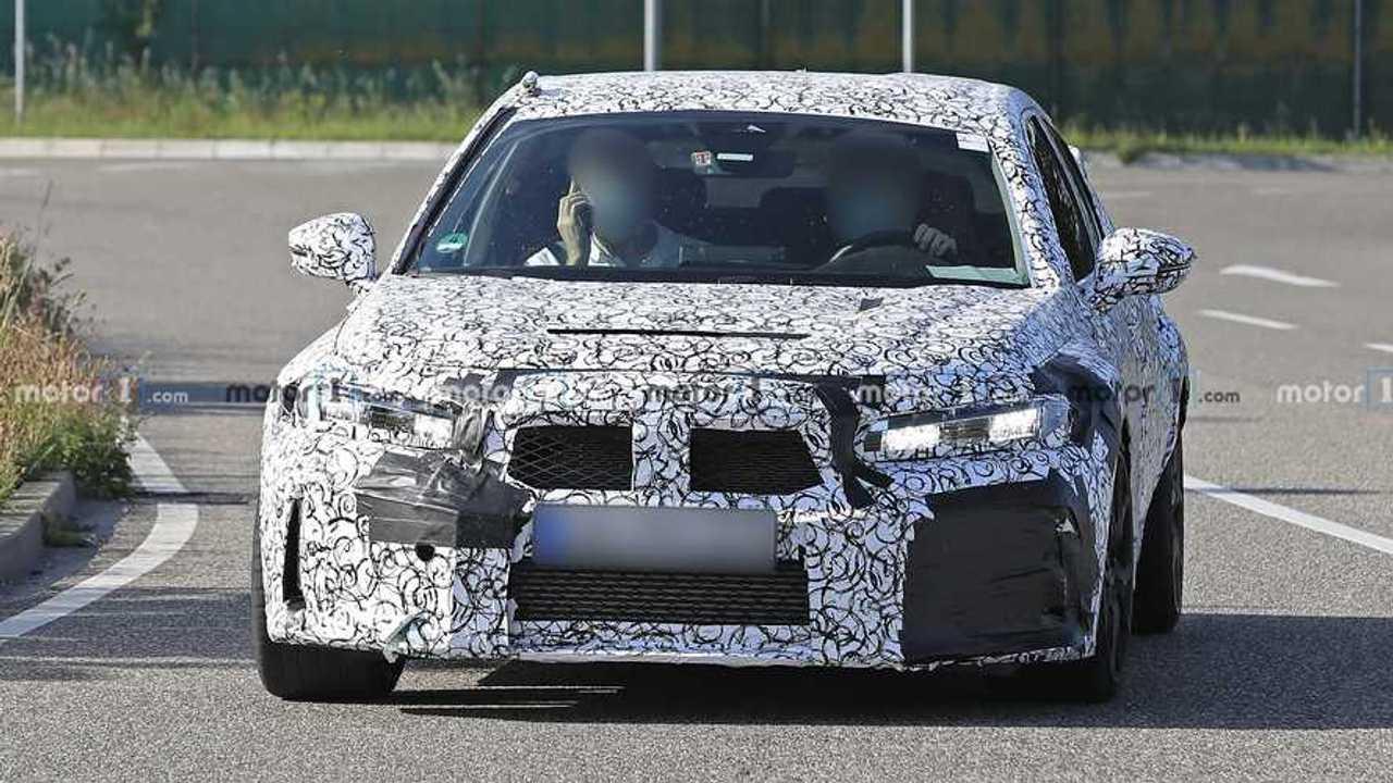Honda Civic Typ R Spion Fotos