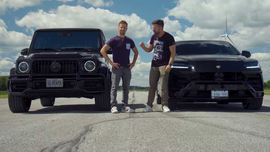 Lamborghini Urus drag races tuned Mercedes-AMG G63 in SUV showdown