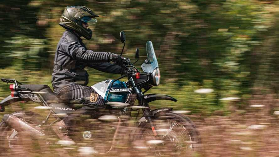 New Royal Enfield Himalayan Spotted With Tripper Navigation