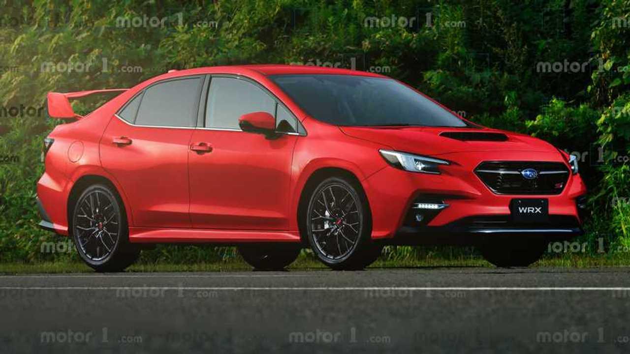 Эксклюзивные рендеры нового Subaru WRX от Motor1