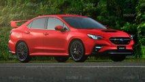 2022 Subaru WRX Exclusive Renderings