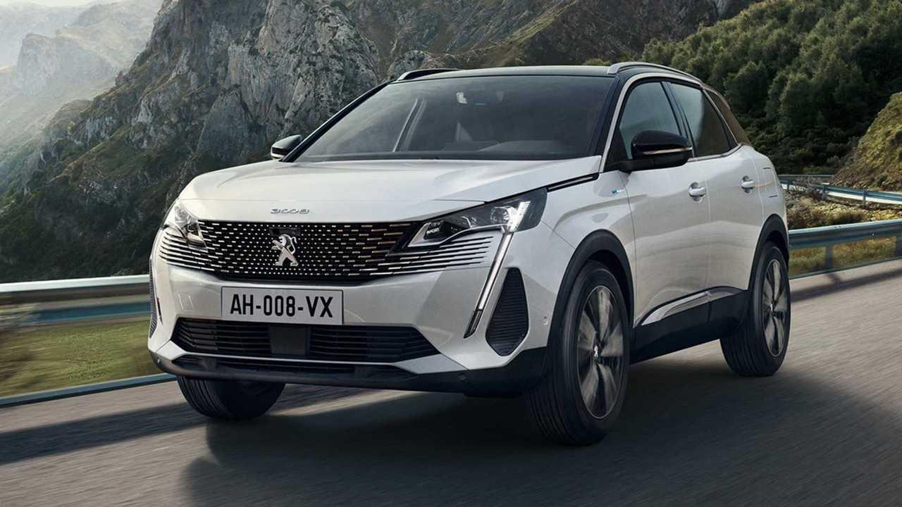 Peugeot 3008 áttervezés (2020)