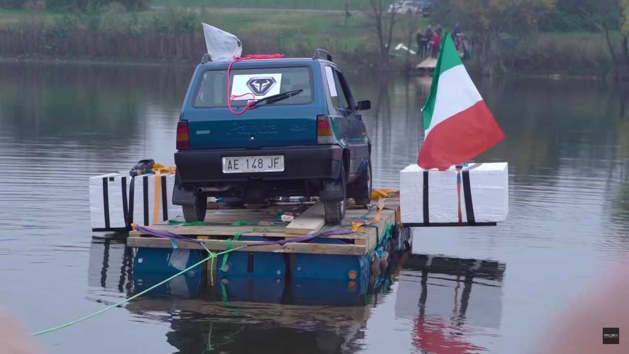 Italdesign recreates Top Gear river stunt with Fiat Panda 4x4