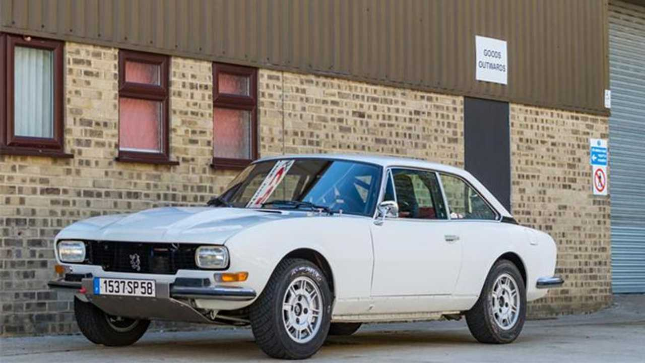 The 1977 Peugeot 504 good enough for a WRC champion