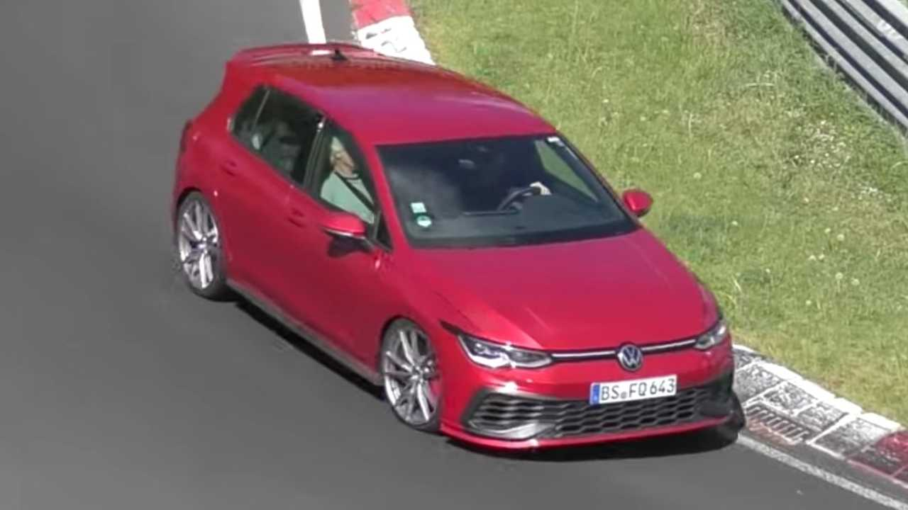 VW Golf GTI TCR Spy Videó