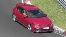 vw golf gti tcr spied