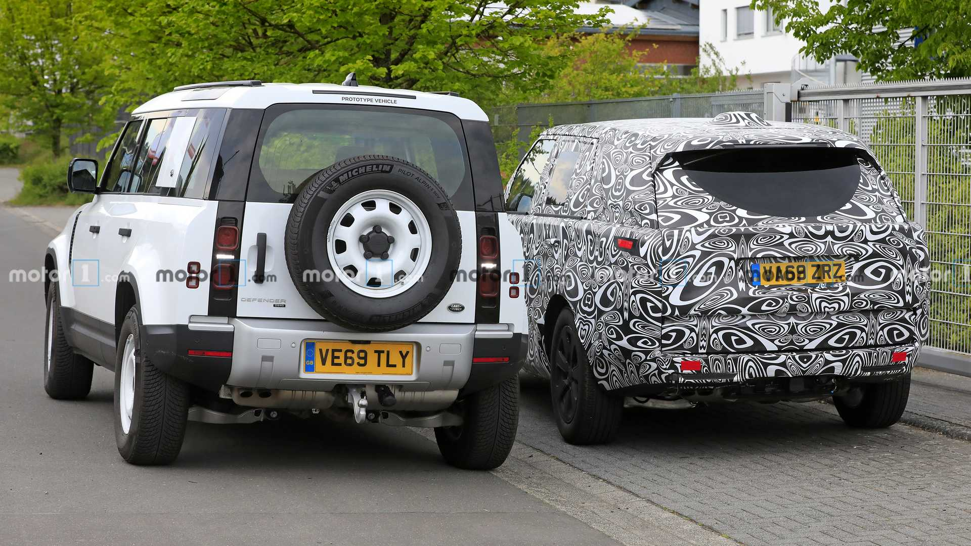 2021 - [Land Rover] Range Rover V 2021-land-rover-range-rover-spy-photos