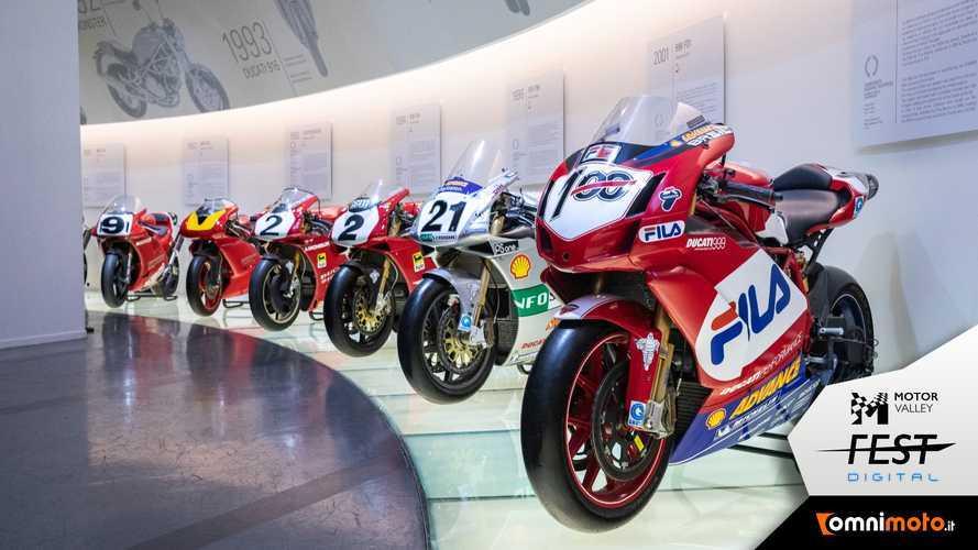 Museo Ducati, la visita guidata online: tra innovazione e successi