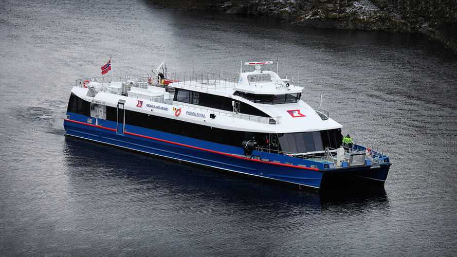 Meet The World's Fastest Electric Ferry With A Massive 2 MWh Battery