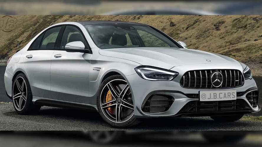 Next-Gen Mercedes-AMG C63 Renderings Imagine An Evolutionary Look