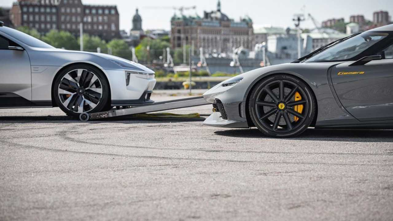 Koenigsegg And Polestar