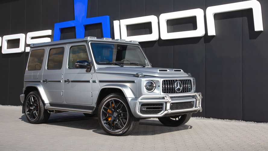 Mercedes-AMG G63 Tuned To 940 Horsepower Is Supercar Quick