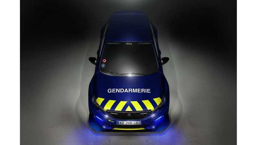 Peugeot 308 RC x Gendarmerie