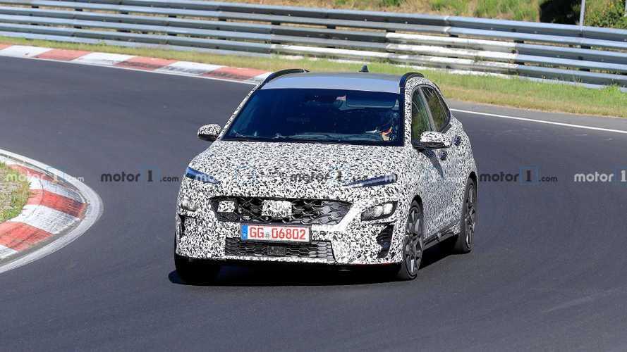 Így tesztelik a Hyundai Kona N-t a Nürburgringen