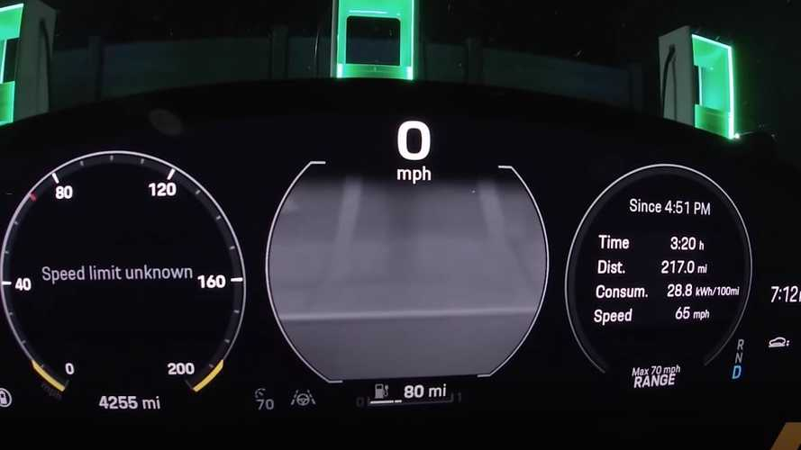 Watch Porsche Taycan Turbo Go 295 Miles On A Charge: Beats EPA By 94 Miles