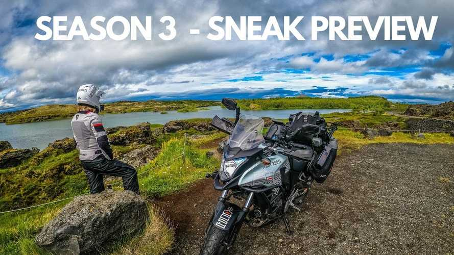 Rocking Riders: Itchy Boots To Conquer Iceland On A Honda CB500X