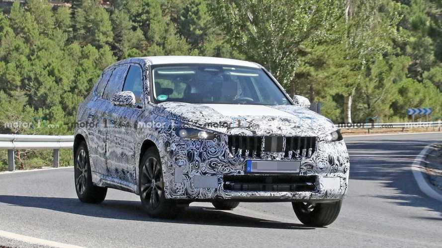 La nouvelle BMW X1 se prépare tranquillement