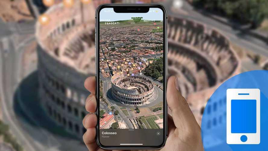 Viaggi in auto, come pianificarlo con Flyover di Apple Mappe