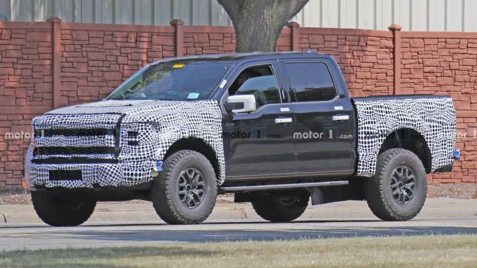 Утечка: Ford F-150 Raptor 2021 года поставляется в стандартной комплектации с EcoBoost V6