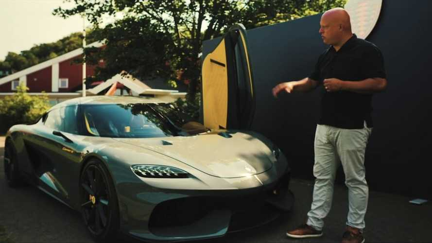Christian von Koenigsegg Gives Detailed Gemera Interior Tour And Walkaround