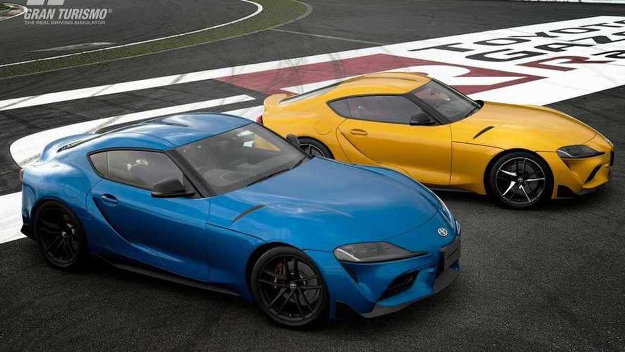 2020 Toyota Supra in Gran Turismo Sport lead image