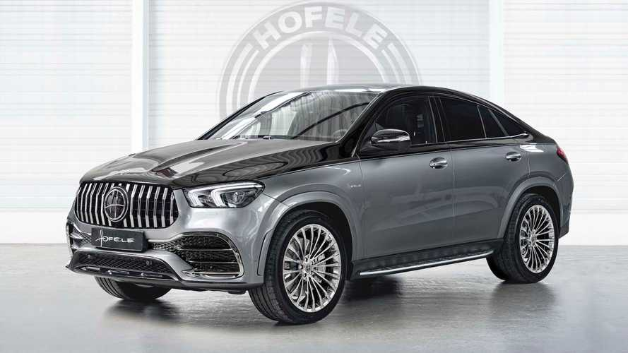 Mercedes GLE Coupe by Hofele adds sophistication to the coupe SUV