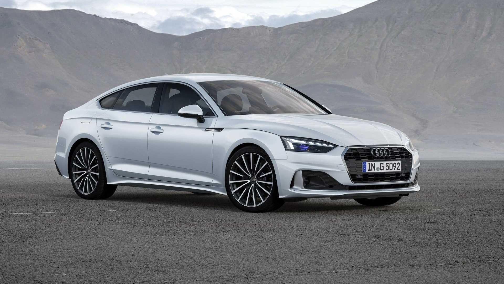 Audi A5, state incentives with methane and mild hybrid